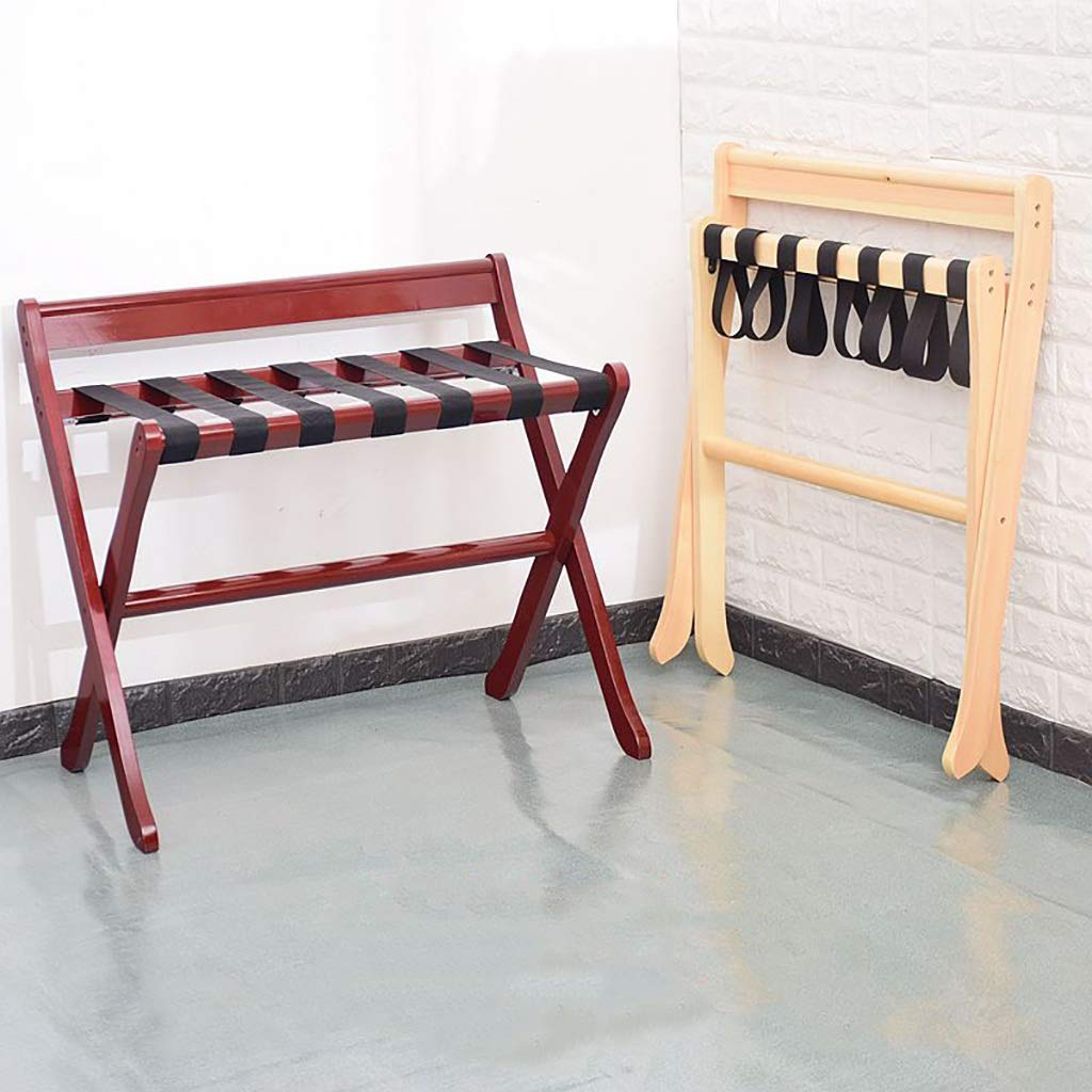 Chairs Chairs Chairs Gepäckträger Massivholz Faltbares Landegestell Schlafzimmer, Raum Lagerregal Wäscheständer 80cm  50cm  68cm Vier Farben (Farbe   B) B07LF8QM95 Kofferstnder 8e1e7c
