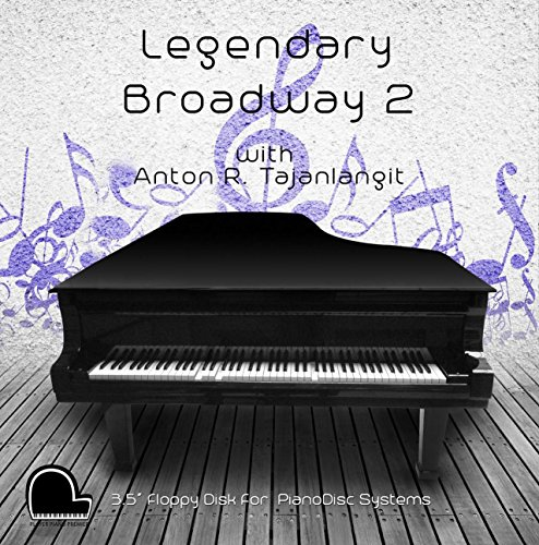 Legendary Broadway 2 - PianoDisc Compatible Player Piano Music on 3.5