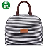 #2: BALORAY Lunch Bag Tote Bag Lunch Organizer Lunch Bag for Women Perfect for Work Women(Upgraded Version)