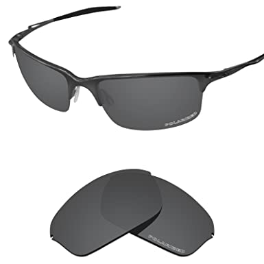 e3f309406d9 Tintart Performance Lenses Compatible with Oakley Half Wire 2.0 Polarized  Etched-Carbon Black