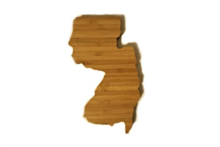 c1067e6da9c New Jersey State coasters, State Shaped Bamboo Coasters (Set of Four), NO  CUP HOLES, Natural or Caramel Bamboo Coasters, Gift Idea - Mitten Made  Woodcrafts