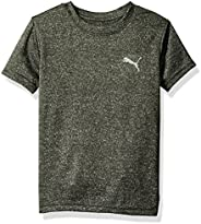 PUMA Boys Logo Heather Tee Shirt