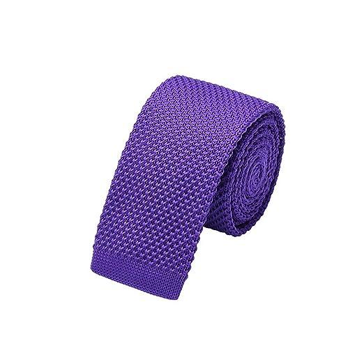 Corbatas Formal Clásica para Hombre Corbata Delgada de Punto ...