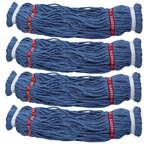 Rubbermaid Reveal Twist Action Mop Blended Yarn Head Refill 4 Pack