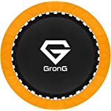 GronG(グロング) トランポリン 家庭用 子供用 大人用 静音設計 耐荷重100kg 直径100cm