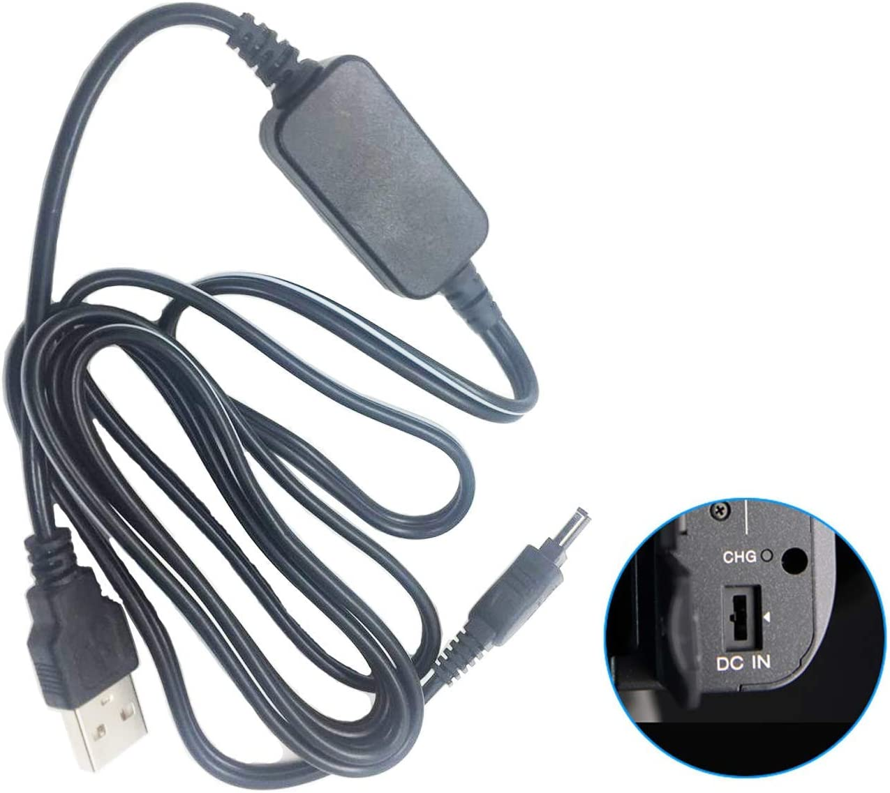DCR-TRV8 DCR-TRV12 MiniDV Handycam Camcorder DCR-TRV10 USB Power Adapter Charger for Sony DCR-TRV6 DCR-TRV11