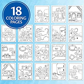 Crayola Blues Clues Color Wonder 18 Mess Free Coloring Pages 5 No Mess Markers Gift For Kids Buy Online At Best Price In Uae Amazon Ae