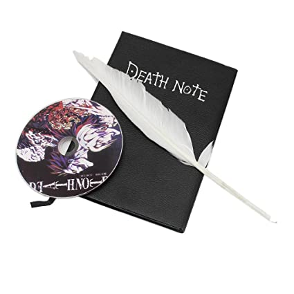 Amazon.com: Cosplay Death Note YagamiLight Killer PU Leather ...