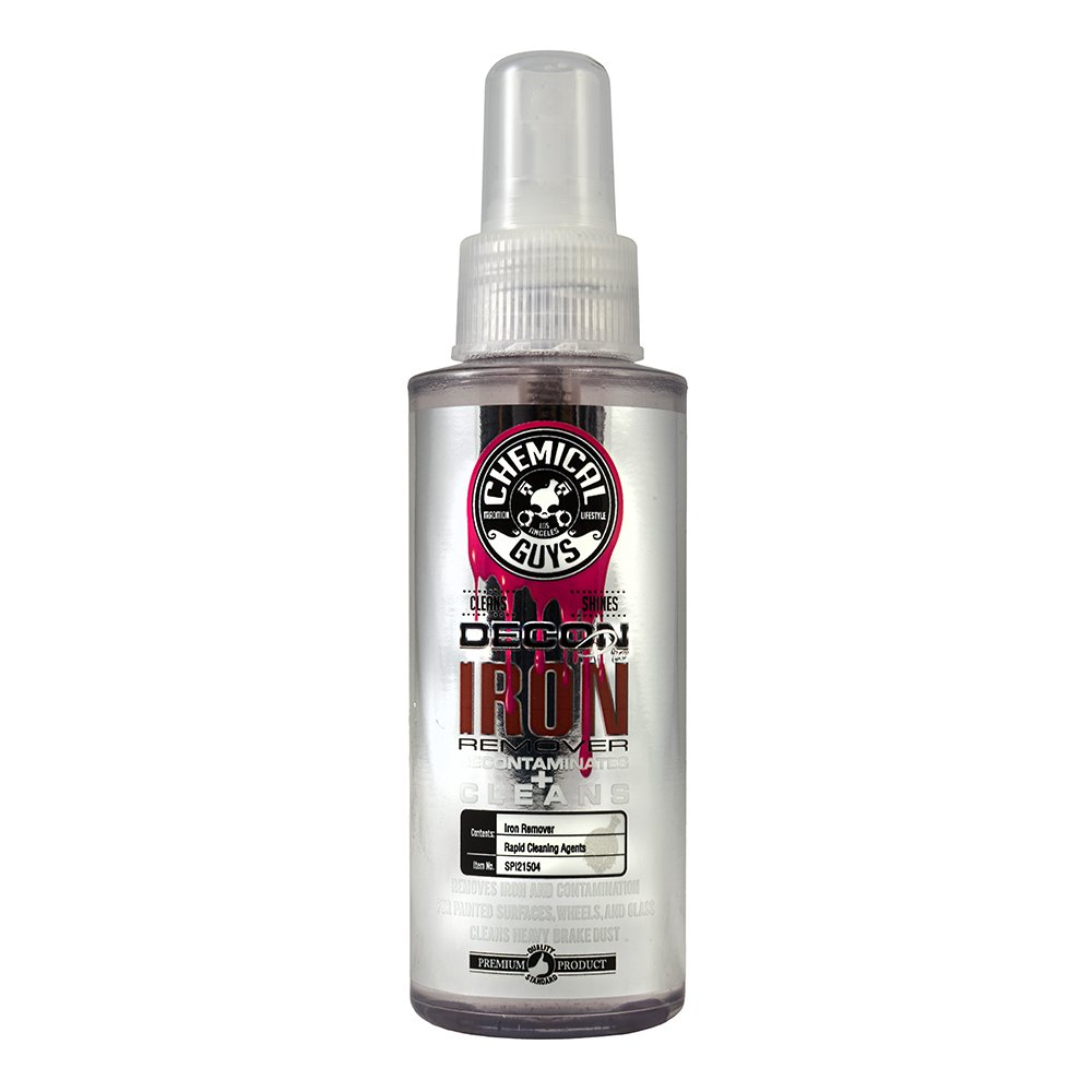 Chemical Guys spi21504 Decon Pro Iron Remover and Wheel Cleaner (4 oz), 4. Fluid_Ounces