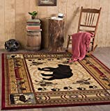 Universal Rugs Lodge Novelty 5