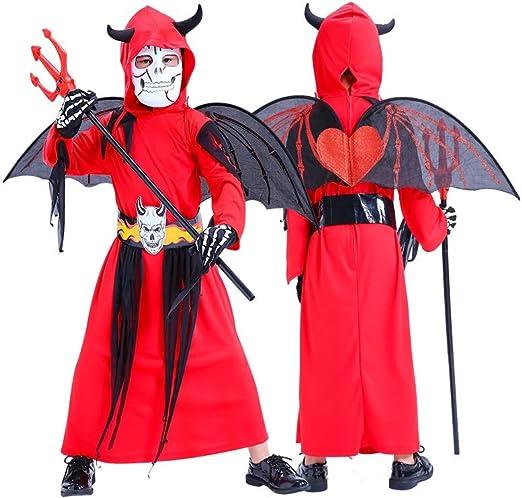 Conemmo Disfraz de Halloween para niños, Disfraz de Vampiro de la ...