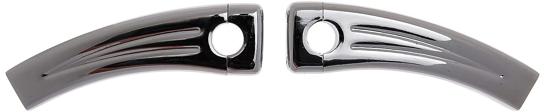 7//8 Inch Bars Custom Universal Risers 5.5 Rise Chrome Krator XH6014-773 Motorcycle Handlebar
