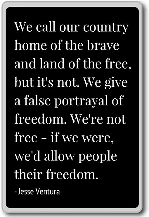 com we call our country home of the brave and lan