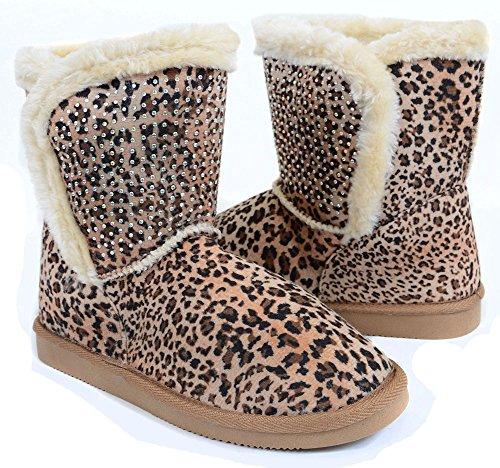 Leopard Slip-on Loafer Wedge Low-39 Fourever Funky (5)