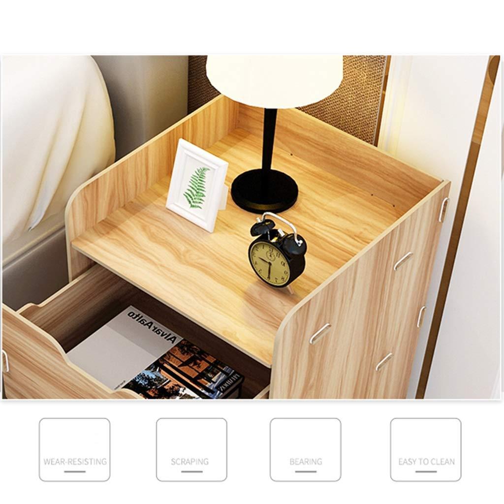Coiffeuse Table de chevet chevet petit meuble deux tiroirs ...