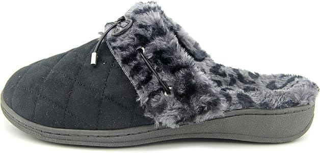 Ladies Slip-on Slippers with Concealed