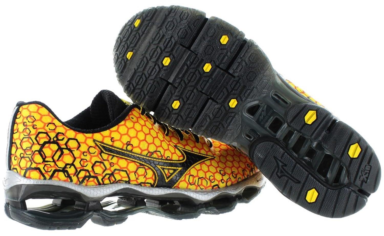 Amazon.com   Mizuno Wave Prophecy 3 Men's Running Shoes Sneakers Yellow Size  7   Road Running