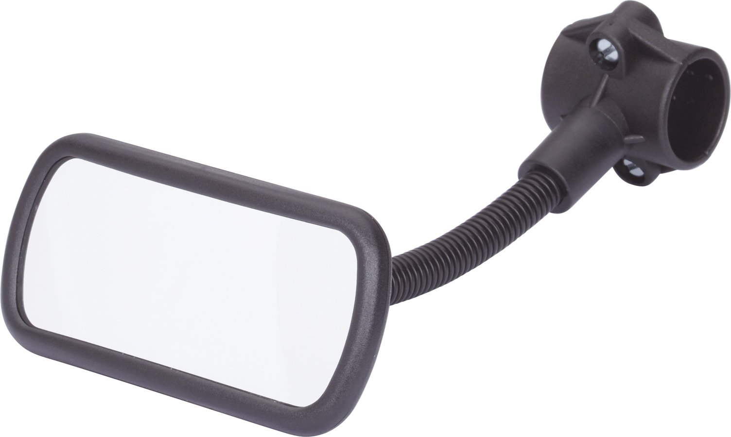 HR Imotion HR 10411101 Bicycle rear view Mirror 55 x 115 x 210 mm/2,2 x 4,6 x 8,1 inch - with adjustable gooseneck Made in Germany