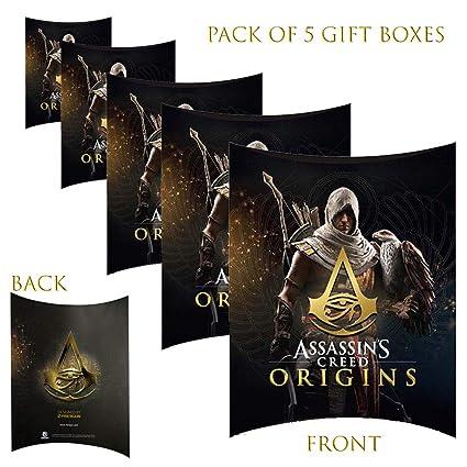 Paquete de 5 cajas de regalo para fiestas y cumpleaños ...