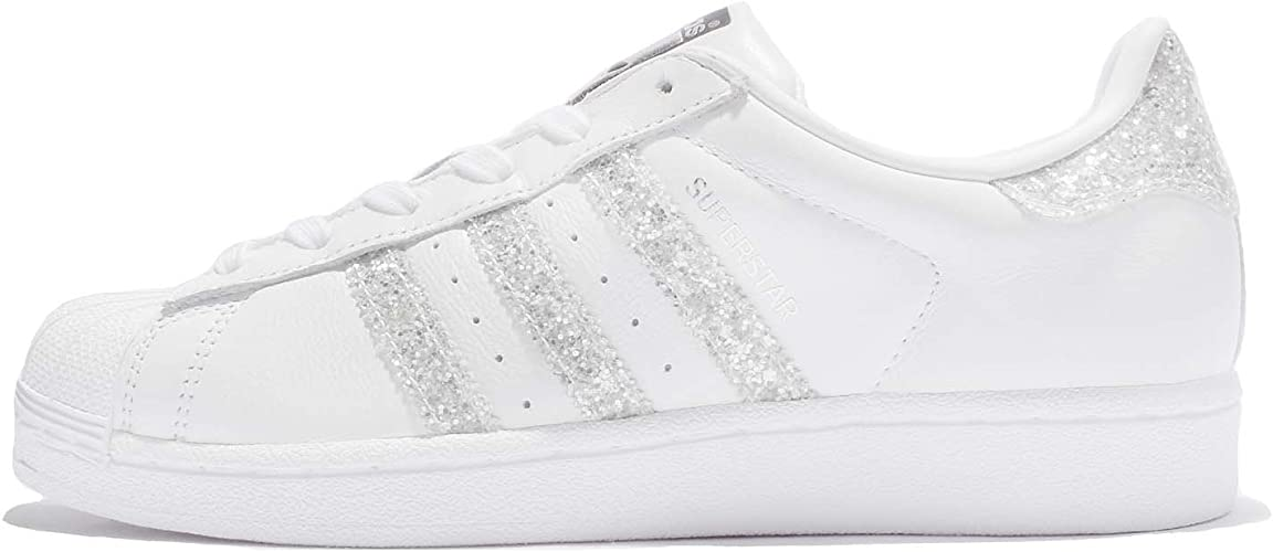 adidas Originals Baskets Superstar Glitter Blanc Femme ...