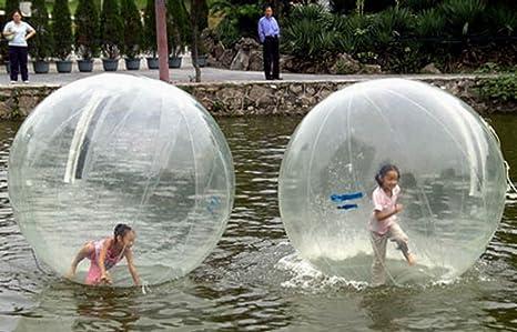 Balón hinchable transparente para caminar sobre el agua (con ...