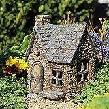 Miniature Fairy Garden Peddler's Cottage with Double Door