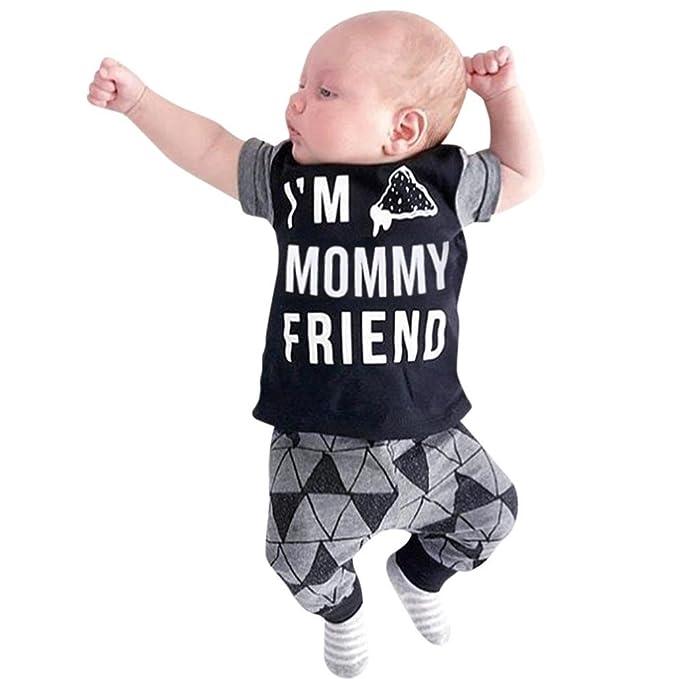 Longra Babykleidung Sommerkleidung Neugeborene Kleidung Set Baby ...