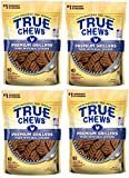 True Chews Dog Treats Premium Grillers Chicken Jerky 12oz Made in USA (4 Pack)
