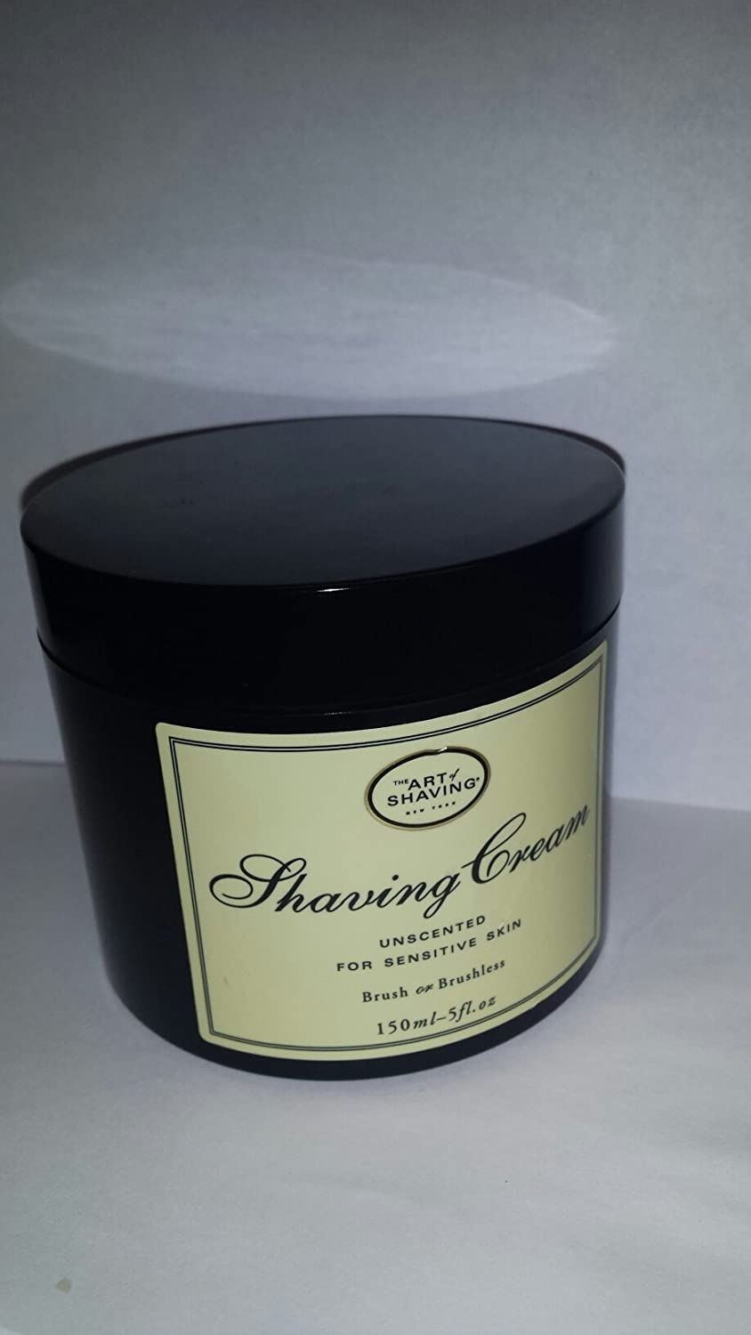 The Art Of Shaving Unscented Shave Cream For Sensitive Skin 5 Oz by The Art of Shaving 670535300007