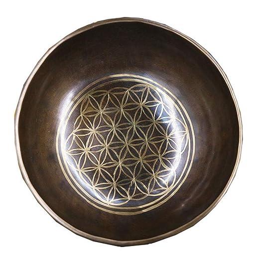 Yuefensu Cuenco Tibetano Tazón de Sonido de Yoga de ...