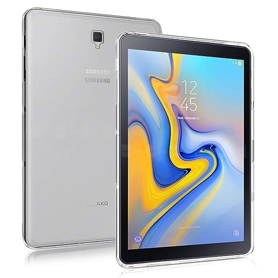 watch 271ca de88e Amazon.com: Galaxy Tab S4 10.5 Case,Slim Thin Anti-Scratch TPU ...
