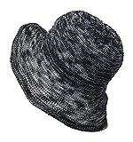 adjust kettle - Packable Crusher Lightweight Kettle Shaped Sun Shade Beach Hat, Adjustable Wide Shapeable Brim, SPF UPF 50 UV Protection (Black)
