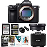 Sony Alpha a7R III Full-Frame Mirrorless ILC (Body Only) with Sigma MC11 Adapter for Canon EF Lenses Bundle (6 Items)
