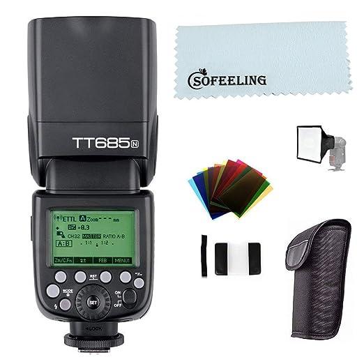 Godox TT685 TT685N Flash Speedlite High Speed Sync External TTL For Nikon D80 D90 D7100 D5100 D5200 D3100 D3200 + HuiHuang free gift