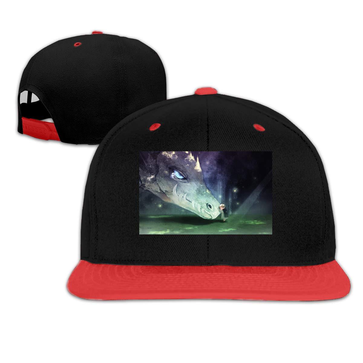 DRE2584WWF Anime Fantasy Dragon Boys and Girls Hip-Hop Baseball Cap Adjustable Cap