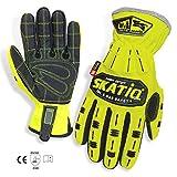 SKATIQ Impact Reducing Safety Gloves SG-1310-G