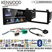 Volunteer Audio Kenwood DMX7704S Double Din Radio Install Kit with Apple CarPlay Android Auto Bluetooth Fits 2005-2007 Volvo S60, V70, XC70