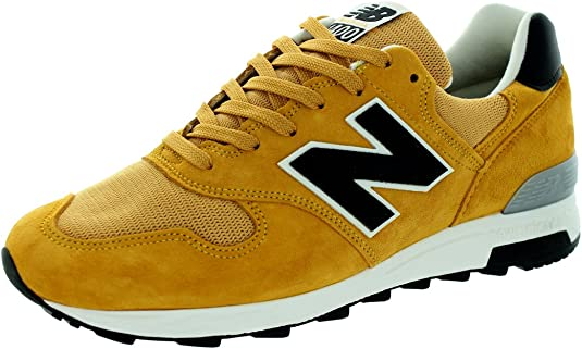 New Balance Men's Connoisseur Guitar 1400 Yellow and Black ...