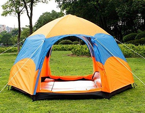WZH Factory Outlet Verkauf im freien camping Zelt 5-8 Zivilschutz UV Sturm Geschwindigkeit automatisch öffnen