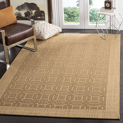 Safavieh Palm Beach Collection PAB323M Maize Sisal Jute Area Rug 4 x 6