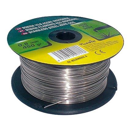 Cevik CE-HILOALU0,8 - Bobina hilo aluminio 0,8 mm. 450