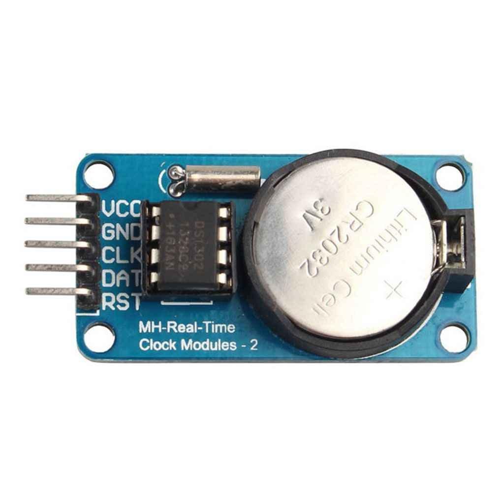 Vkospy RTC DS1302 Horloge en Temps r/éel Module pour Arduino AVR Arm PIC SMD