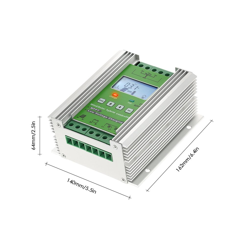 Anself Lcd Wind Solar Hybrid Charge Controller Mppt Portable Powered Mobile Phone Battery Charger Ecn Blog Boost 12 24v Auto Lighting Street Lamp Charging Garden Outdoor