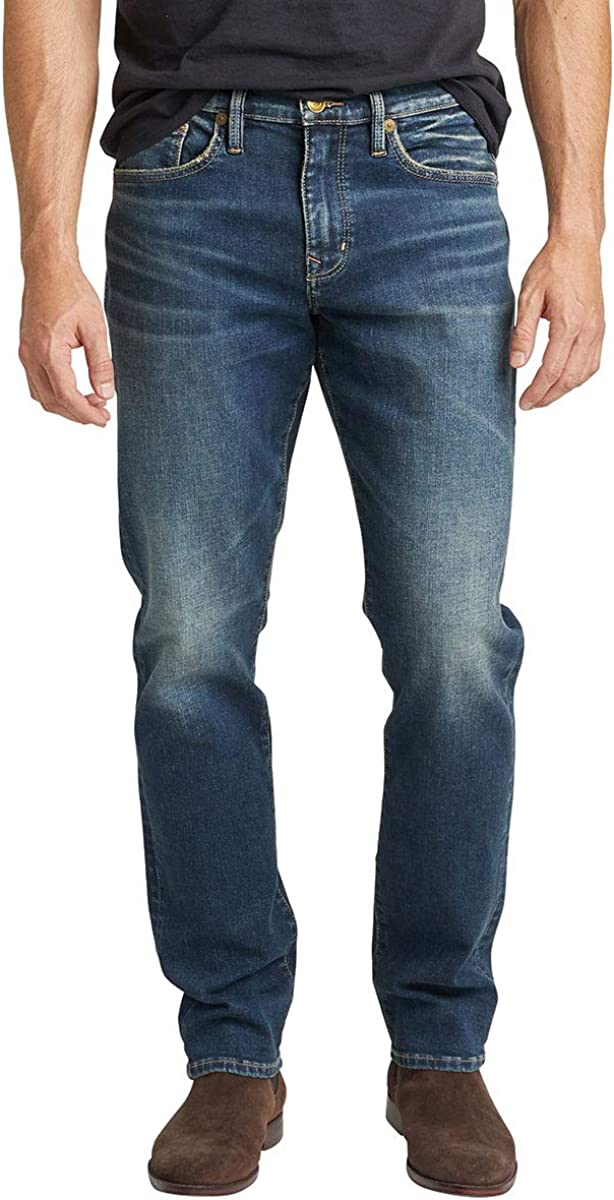 Silver Jeans Our shop OFFers the best service Co. Men's Machray Fit Straight SALENEW very popular! Leg Classic