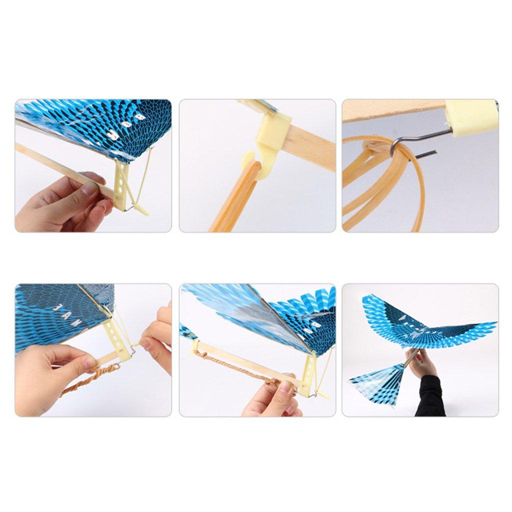 Vivianu - Juego de 10 piezas de juguete para niñ os con banda elá stica y diseñ o de pá jaros voladores