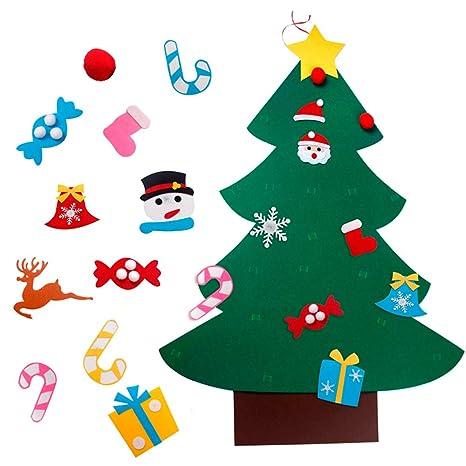98558936deffcd Zoe Decorazioni per L'Albero di Natale in Feltro Fai-da-Te per ...