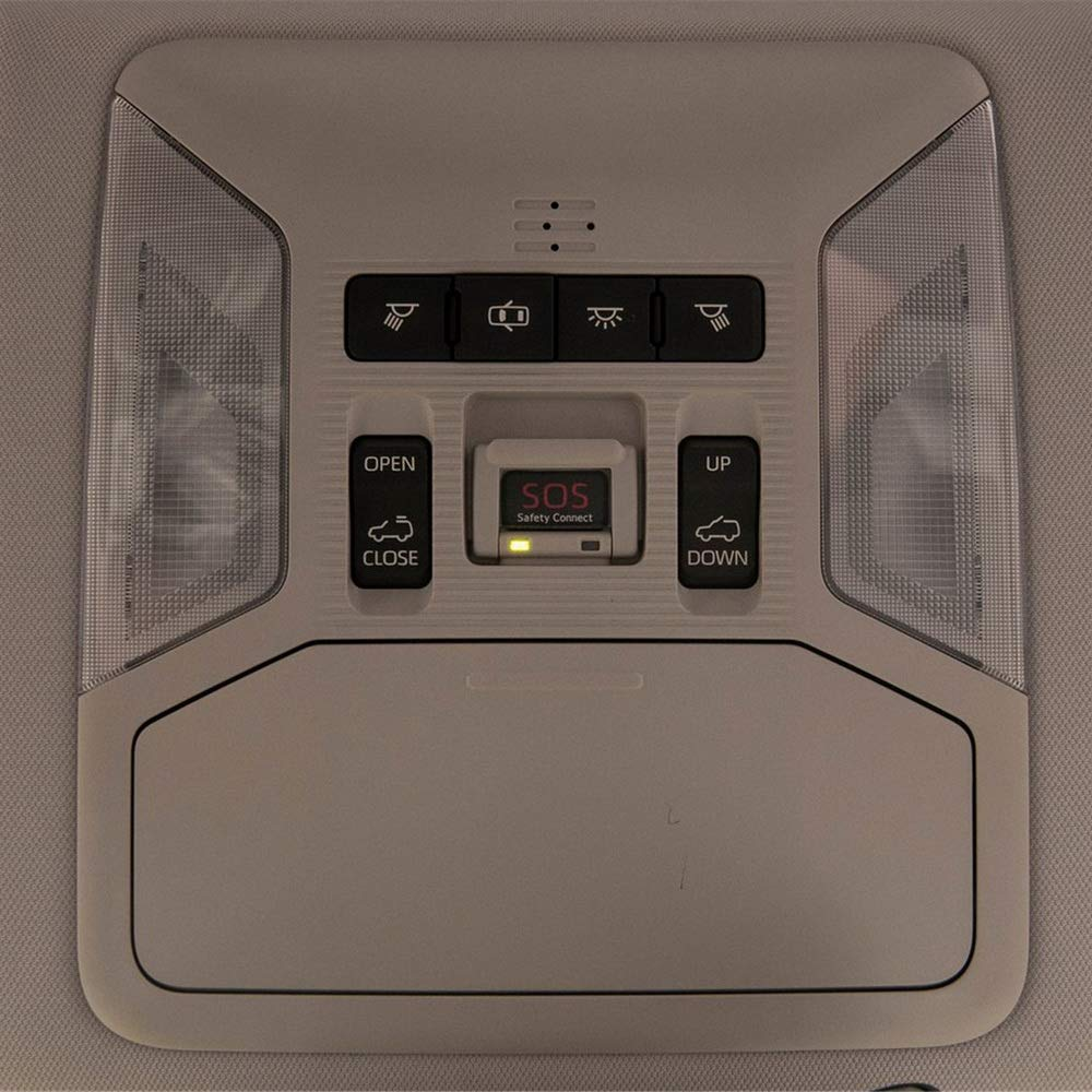 July King 6 Pcs 6000K LED Luces interiores de la lectura del coche para RAV4 MXAA5# AXAH5# 2019+