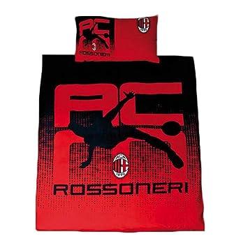 Ac Milan Rossoneri Single Bettwasche Set Amazon De Kuche Haushalt