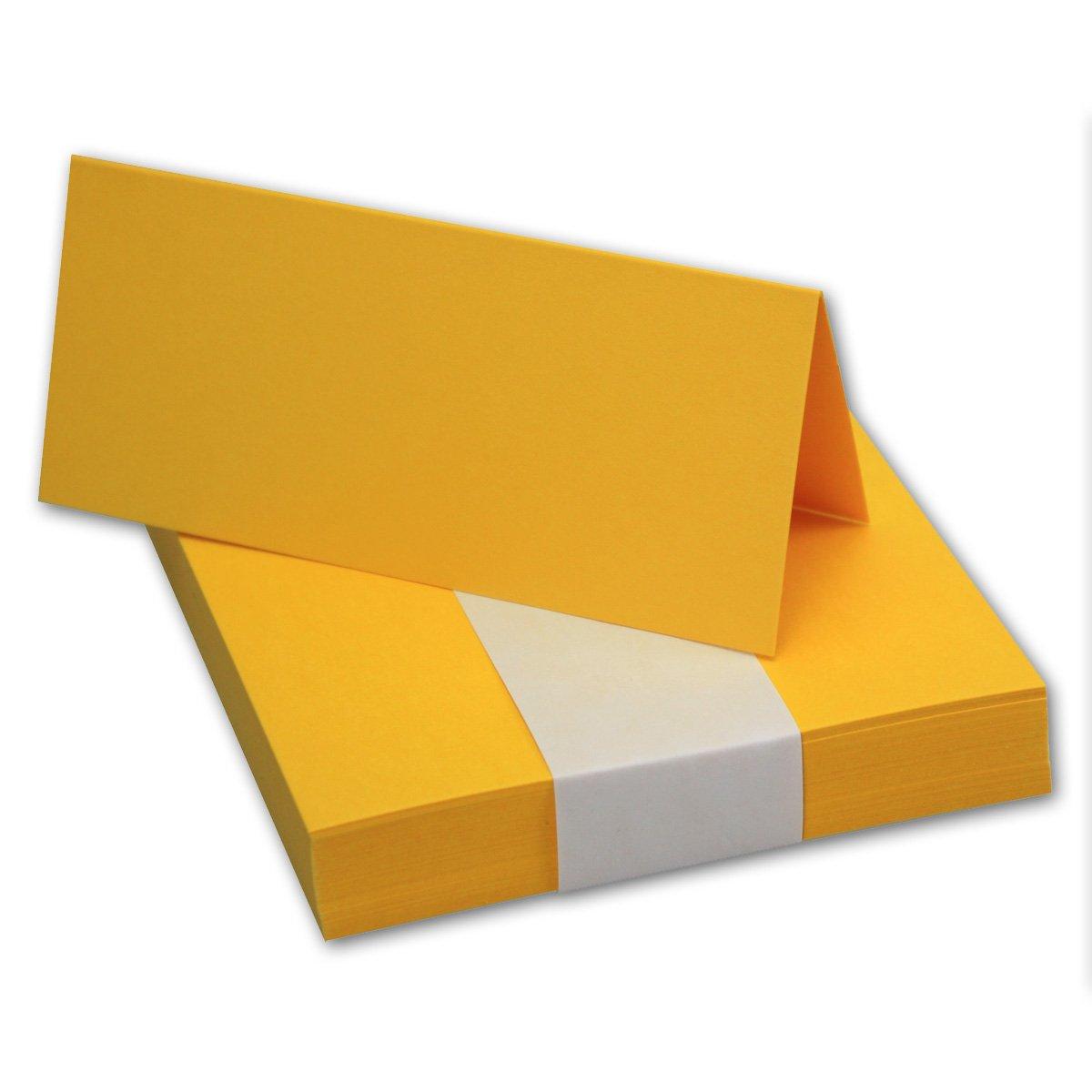 200x Tischkarten Tischkarten Tischkarten in Hochweiß I Größe  100 x 90 mm (Gefaltet 100 x 45 mm) I 240 g m² - Sehr Schwere und Stabile Qualität I aus der Serie FarbenFroh von NEUSER  B07FS5T6F3 | Niedriger Preis und gute Qualität  584b20