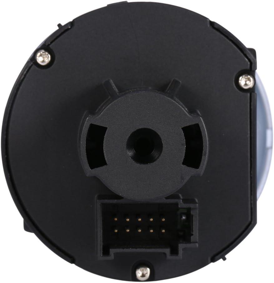 Commutateur Chrom/é pour 5 6 MK5 MK6 Capteur Automatique de Phare Automatique Multifonctionnel Automatique Pour Phare de Phare